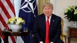 VOA: Trump critica a Macron por declaración sobre la OTAN