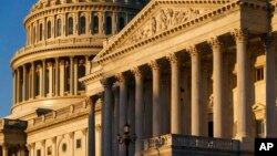 ARHIVA - Pogled na zgradu američkog Kongresa sa senatske strane (Foto: AP/J. Scott Applewhite)