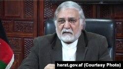 سابق افغان گورنر فضل اللہ واحدی (فائل فوٹو)