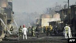 Meksika rəsmiləri neft kəmərində partlayışın səbəblərini araşdırır