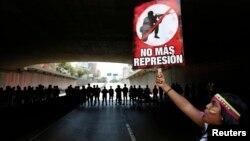 Los estudiantes piden detener la represión del gobierno como condición para sentarse a dialogar.