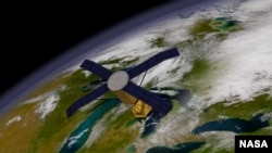 Scientists are using orbiting satellites to detect conditions that lead to disease outbreaks. (NASA/Goddard Space Flight Center)