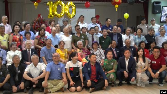 司马璐百岁祝寿会吸引多人参加(美国之音久岛)