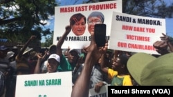 Zanu PF Women's League - Byo demos