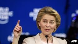 歐盟委員會主席馮德萊恩 。(資料照片)