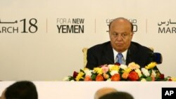 President Abed Rabbo Mansour Hadi opened a six-month National Dialogue on March 18, 2013 and invited 565 Yemenis to chart a new future for their troubled nation. (AP)