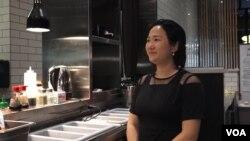雙椒餐廳老闆楊玉楠。