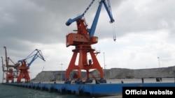 중국과 합작으로 건설 중인 파키스탄 서남부 지역의 과다르 항.