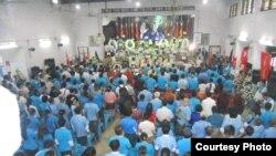 NLD နာယက သတင္းစာဆရာႀကီး ဦး၀င္းတင္ရဲ႕ စ်ာပနအခမ္းအနား - 04-23-14 (ဓာတ္ပံု-Citizen Journalist)