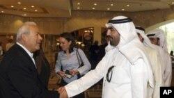 카타르 수도 도하에서 시리아 연합정부 구축 회담에 참석한 반정부 지도자들(자료사진)