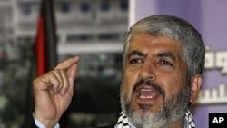 Hamas leader Khaled Mashaal (file photo)