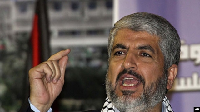 Hamas leader Khaled Mashaal (file photo)