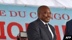 Joseph Kabila à Kinshasa le 24 janvier 2019.