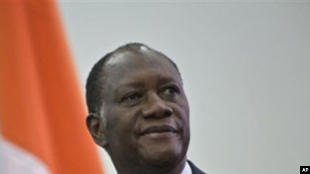 Ivory Coast President-elect Alassane Ouattara (File Photo)