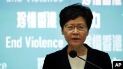 香港行政長官林鄭月娥10月4日宣佈,將引用緊急法訂定禁止蒙面法,並從本月5日開始生效。