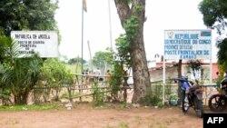 Ndelo kati na Angola na RDC, na Kamako na Kasaï, 12 octobre 2018.