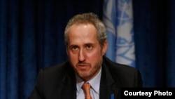 联合国秘书长发言人斯特凡·杜加里克(图片来自联合国官方网站)