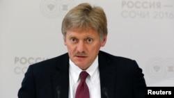 克里姆林宮發言人佩斯科夫(資料照片)