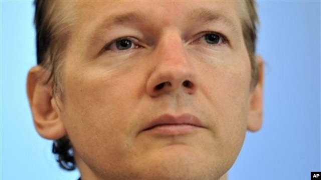 Wikileaks founder Julian Assange (file photo)