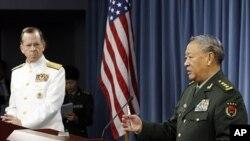واشنگٹن میں چین اور امریکہ کے عسکری عہدیدار