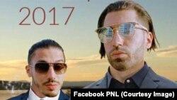 Une affiche du groupe de rap français PNL postée sur sa page Facebook, 15 avril 2017. (Facebook PNL)