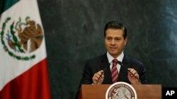 Presiden Meksiko Enrique Pena Nieto.