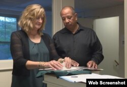 Judi and Wayne Richardson, the parents of shooting victim Darien Richardson.