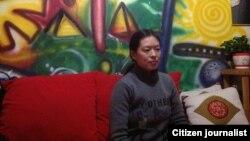 陈克贵之妻刘芳在北京近照 图片由刘芳提供