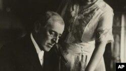 威尔逊总统和他的夫人爱狄斯