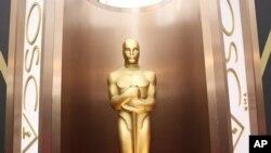 美国洛杉矶陈列的奥斯卡奖杯