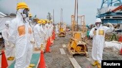Nước nhiễm phóng xạ từ nhà máy điện hạt nhân bị hư hỏng Fukushima sẽ được lọc trước khi thải ra biển.