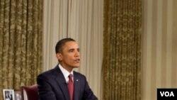 Predsjednik SAD Barack Obama sinoć u Ovalnom uredu