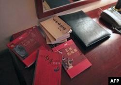 瑞金宾馆里的《毛泽东选集》
