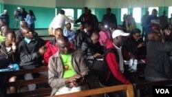 Amalunga eMthwakazi Republic Party avimbe umhlangano wokukhumisana umlotho eLupane esabelweni seMatabeleland North.