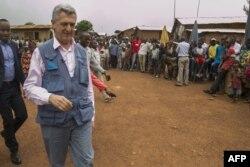 Filipo Grandi urongoye igisata c'ishirahamwe mpuzamakungu kiraba ivy'impunzi kw'isi HCR