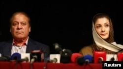 Nawaz Sharif da diyarsa Maryam