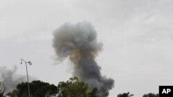 利比亚的西部战线6月11日的景象