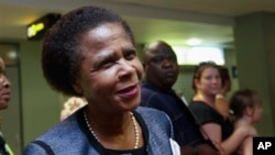 FILE - Former South African anti-apartheid activist Mamphela Ramphele.