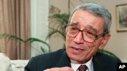 Cựu Tổng thư ký Liên Hiệp Quốc Boutrous-Ghali.