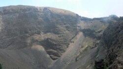 يک دانشمند ايتاليايی نسبت به خطر آتشفشان وزوو هشدار می دهد
