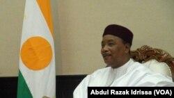 Le président du Niger Mahamadou Issoufou, 10 octobre 2016. VOA/. Abdoul-Razak Idrissa
