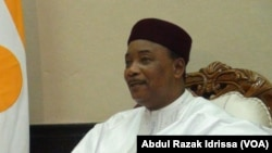 Le président du Niger Mahamadou Issoufou, 10 octobre 2016.