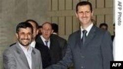İran prezidenti Mahmud Əhmədinejadın Suriya səfəri davam edir