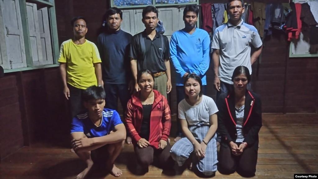 Một nhóm người Thượng đang xin tị nạn ở Bang Yai, Nonthaburi, Thái Lan. Tháng 8/2019.