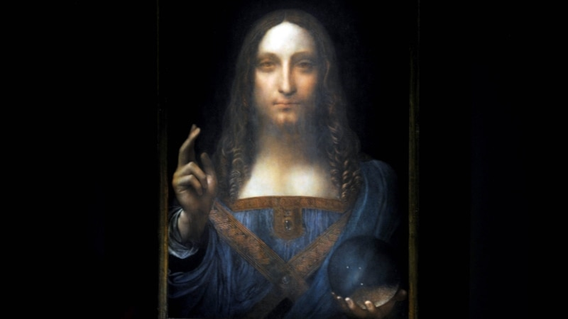 Voice of America, Lost Leonardo Painting Had Tangled Path to $450M Sale