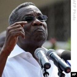 Ghana's President Professor John Evans Atta-Mills