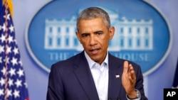 اوباما از ایجاد یک ستراتیژی مشترک علیه داعش خبر داد