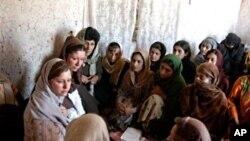 افغانستان میں بچیوں کی تعلیم