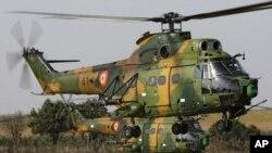 A força aérea angolana tem vários helicópteros Alouette III IAR 316B (semelhantes ao que se mostra nesta foto), um dos quais se despenhou.