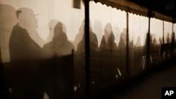Migranti u šatoru u Nemačkoj